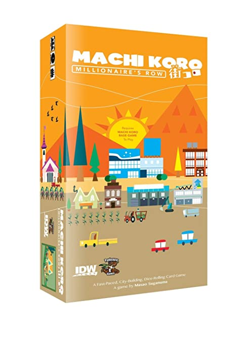 Amazoncom Machi Koro Millionaires Row Board Game Game Toys Games - Board game design software