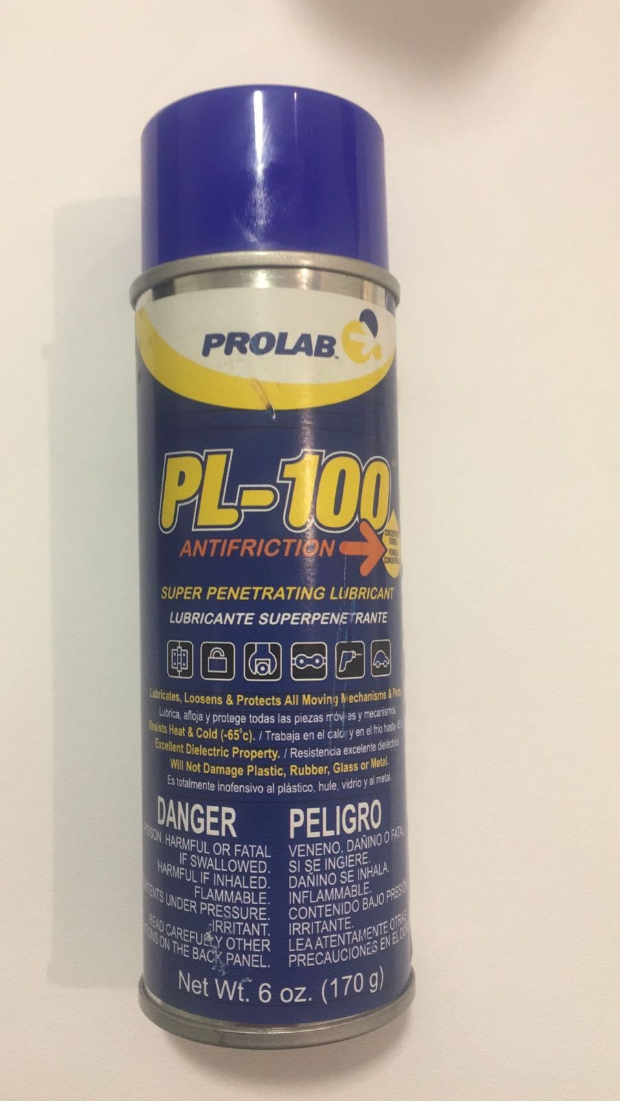 PL-100 Antifriction, Super Penetrating Lubricant