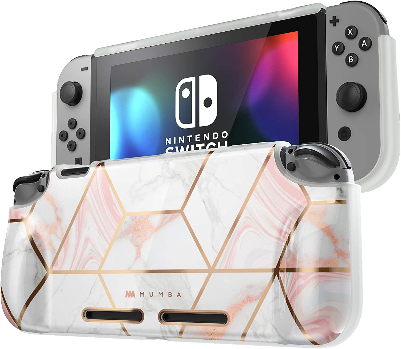 Mumba Funda Nintendo Switch Case Protectora TPU Grip Carcasa de ...