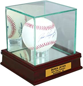 Perfect Cases Single Baseball Display Case with Sport Moulding