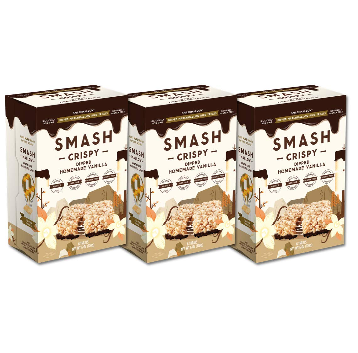 Super sale Chocolate Challenge the lowest price Dipped Homemade Vanilla Rice Crispy by SMASHMALLOW N