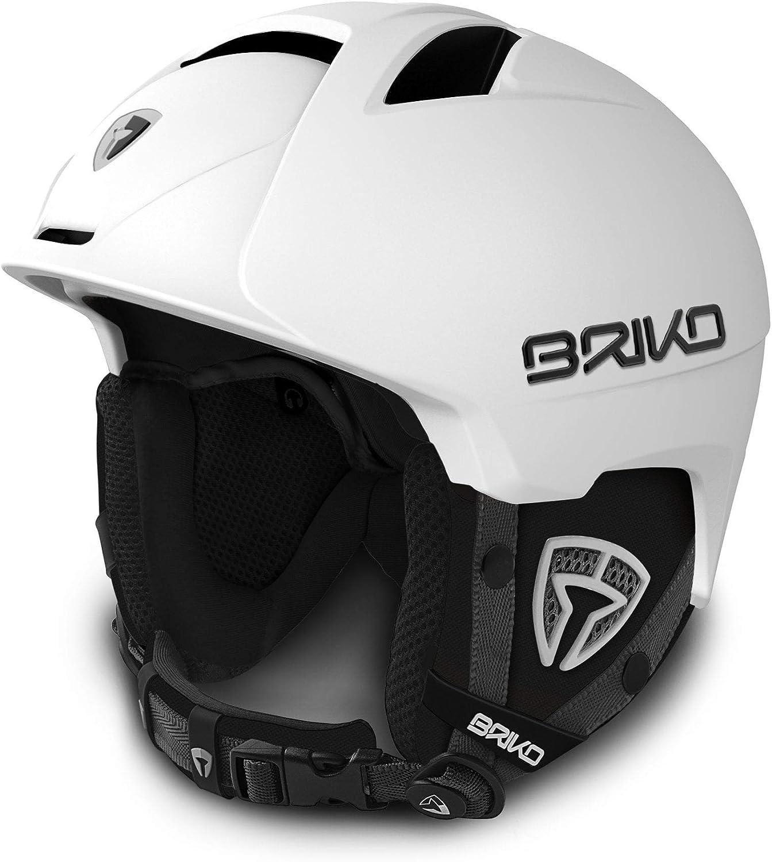 Briko Canyon - Casco para bicicleta, color blanco, tamaño M/L ...