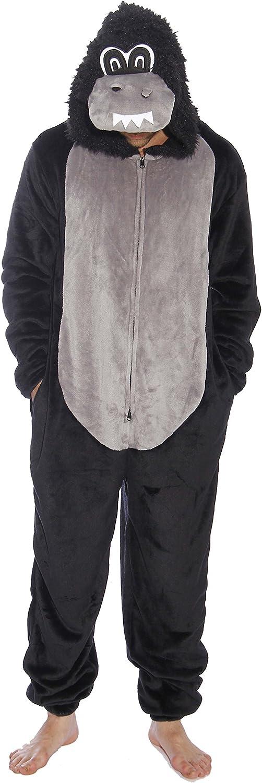 #followme Gorilla Adult Onesie Pajamas 71WZ7nEzTUL