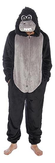 6428-XXL-Gorilla #FollowMe Men's Adult Onesie / Pajamas