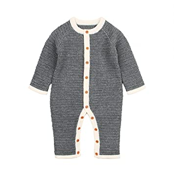 d98698a797ad Amazon.com  Quest Sweet Baby Long Sleeve Romper Clothes