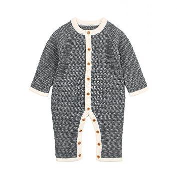 b7d041d7fd32 Amazon.com  Quest Sweet Baby Long Sleeve Romper Clothes
