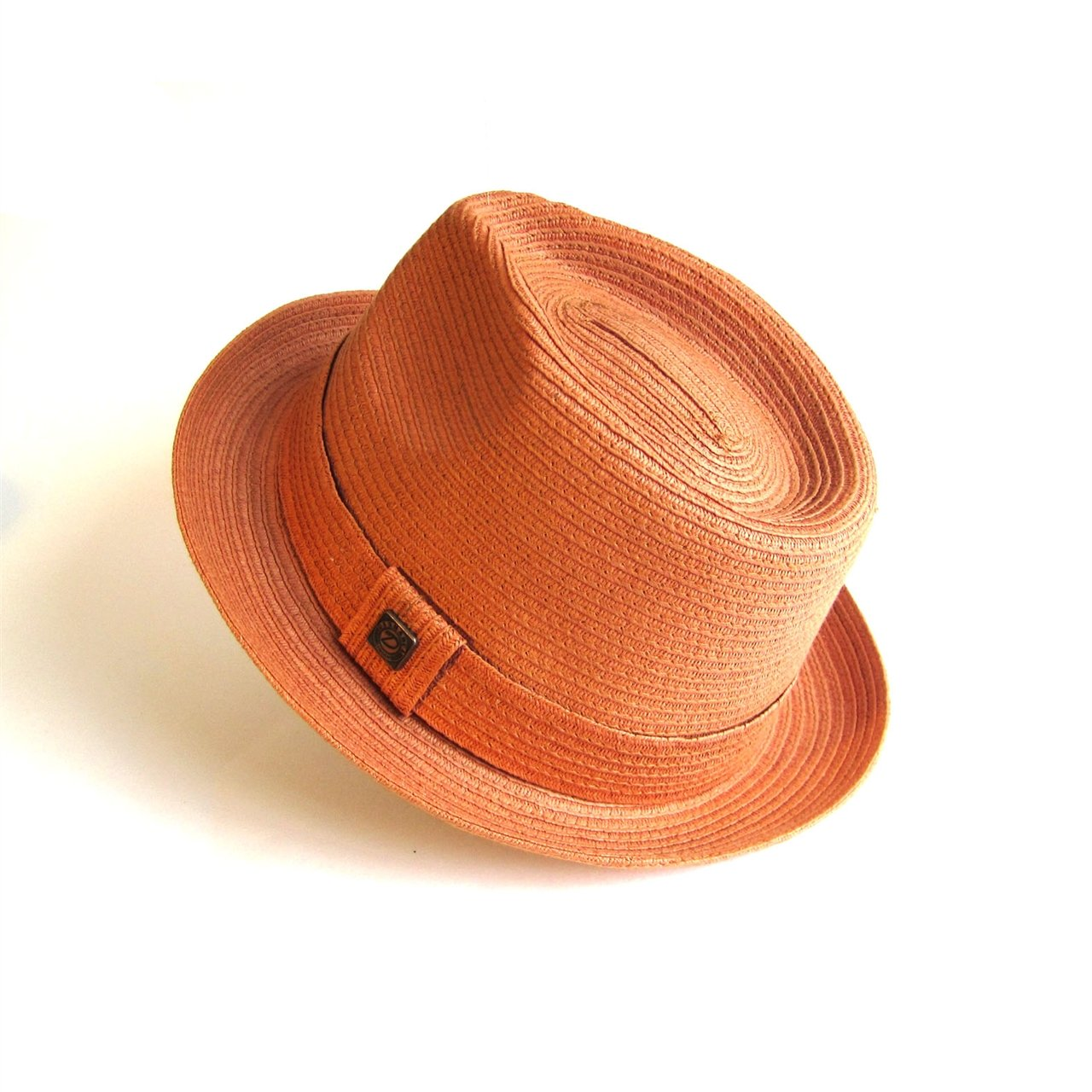 Dasmarca Mens Summer Straw Trilby Hat - Vincent