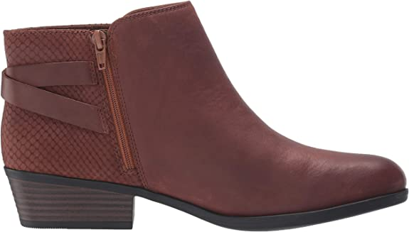 Size 6 Clarks Women/'s Addiy Gladys Black Leather Boots