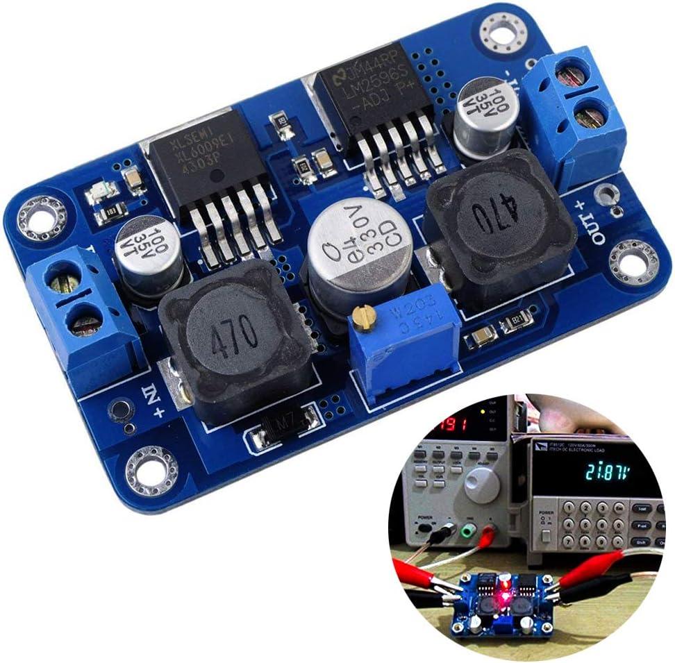 Digital LED DC-DC Boost Step up down Converter 3.5-28V To 1.25-26V 5V 9V 12V 24V