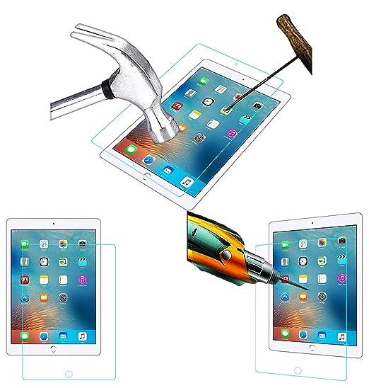 Acm Tempered Glass Screenguard for Apple Ipad 9.7 2017 A1823 Tablet Screen Guard Touch Screen Tablet Screen Protectors