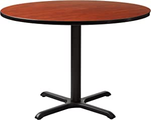 "Cain 42"" Round Breakroom Table- Cherry"