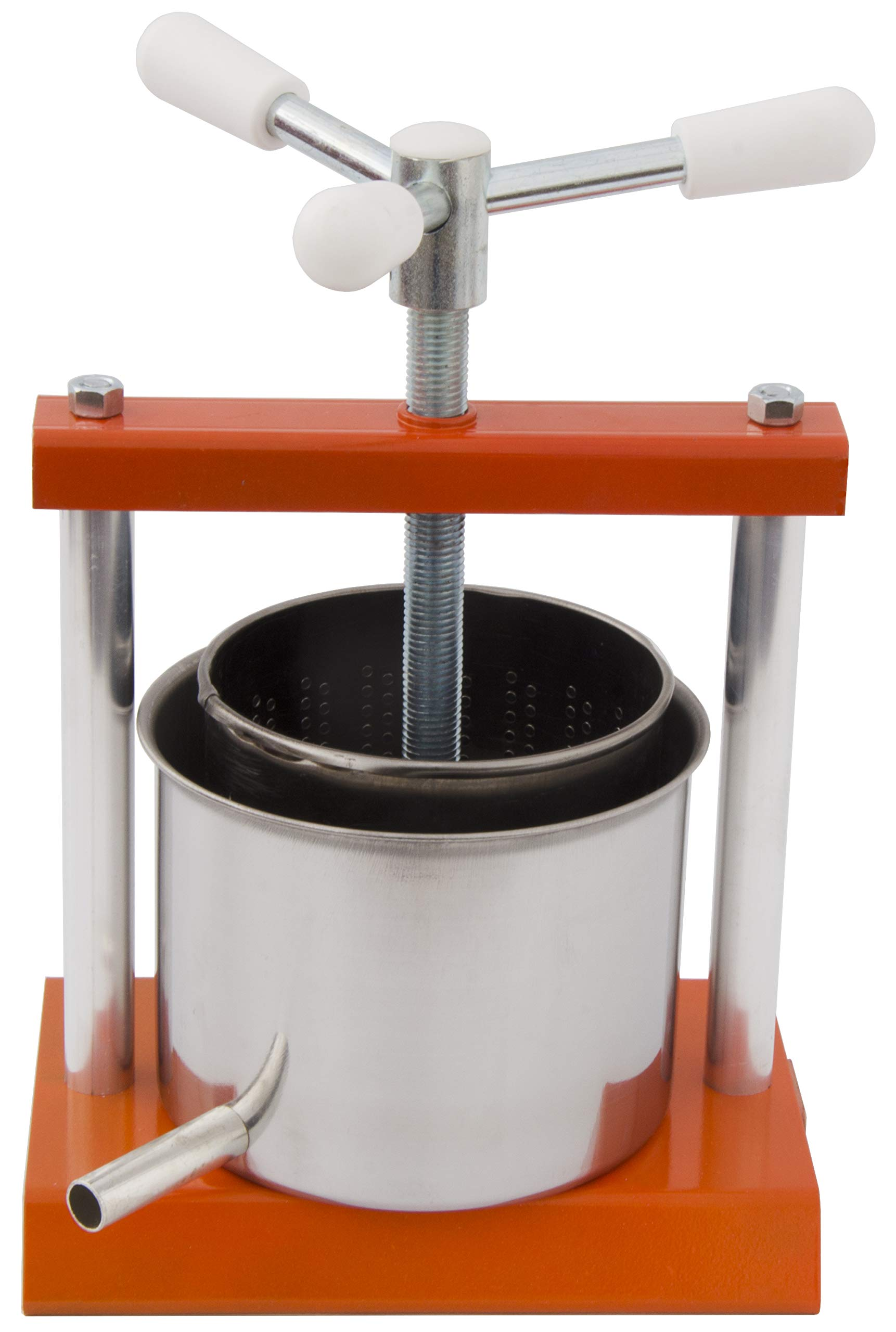 North Mountain Supply Soft Fruit/Wine/Cheese Press (0.5 Gallon)