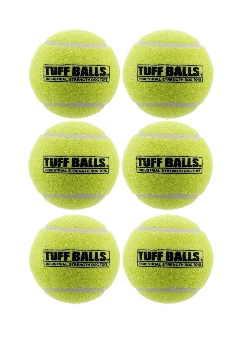 (6 Pack) Tuff Ball Bulk Dog Toy