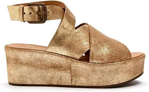 FREE SHIP! Women/'s Matisse Runaway Flatform Gold BEST SELLER