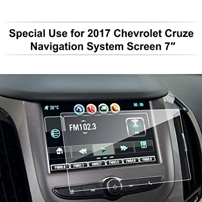 LFOTPP 2016-2020 Chevrolet Cruze 7 Inch MyLink Car Navigation Screen Protector Glass, [9H] Clear Tempered Glass Center Touch Screen Protector Against Scratch High Clarity: GPS & Navigation