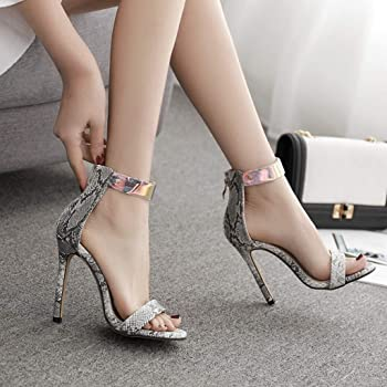 Señalaron Zapato Van Serpiente Shoes Tatuaje Sandals Transparente ...