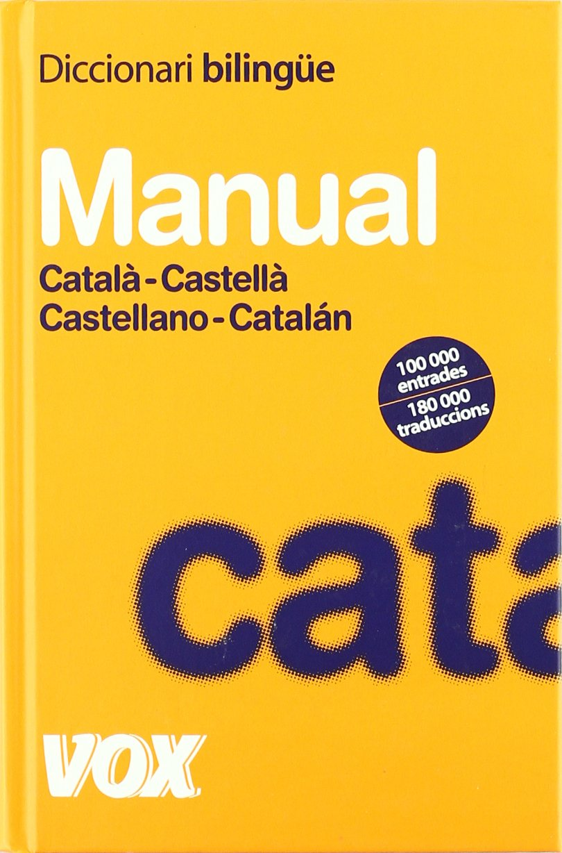 Diccionario Bilingue Manual Catala Castella Castellano