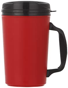 ThermoServ 520A02201A1 Foam Insulated Mug, 20-Ounce, Red