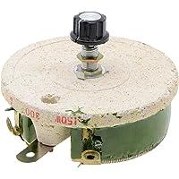 YXQ 150W 300 Ohm Ceramic Rheostat Potentiometer Variable Taper Pot Wirewound Rotary Power Resistor w Knob