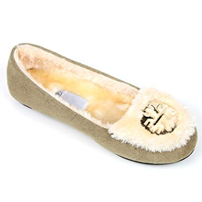 Women Warm Winter Comfortable Classic Fur Lining Moccasin Slip on Flat Shoes.