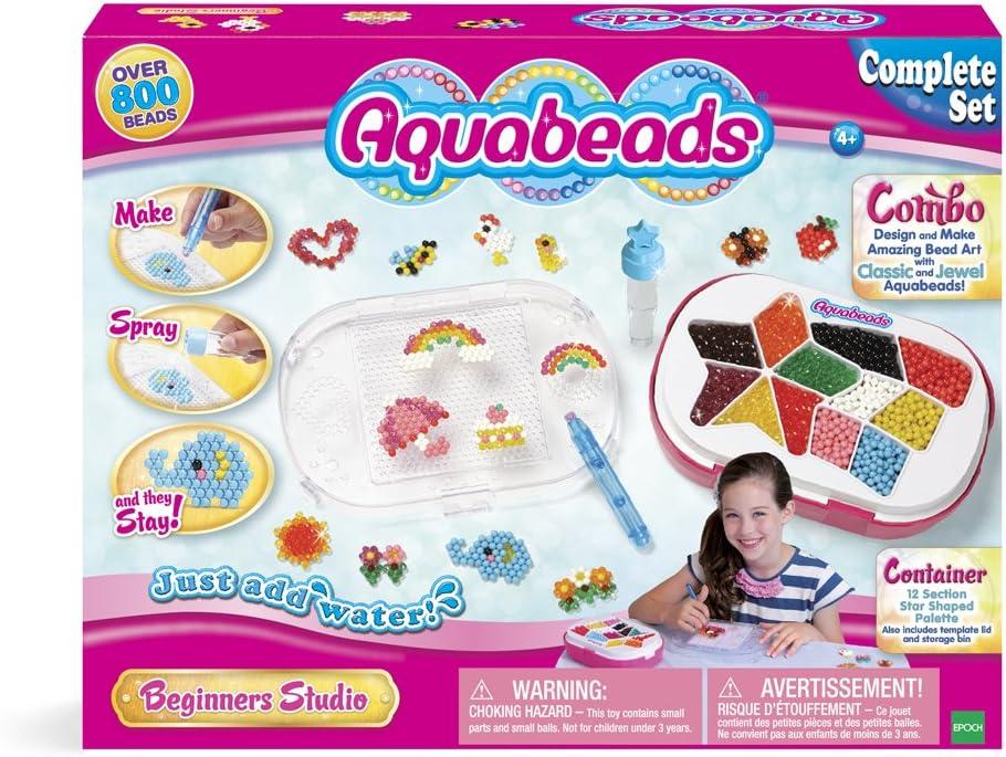 Aquabeads-79108 Beginners Studio, Multicolor (Epoch AB65105): Amazon.es: Juguetes y juegos