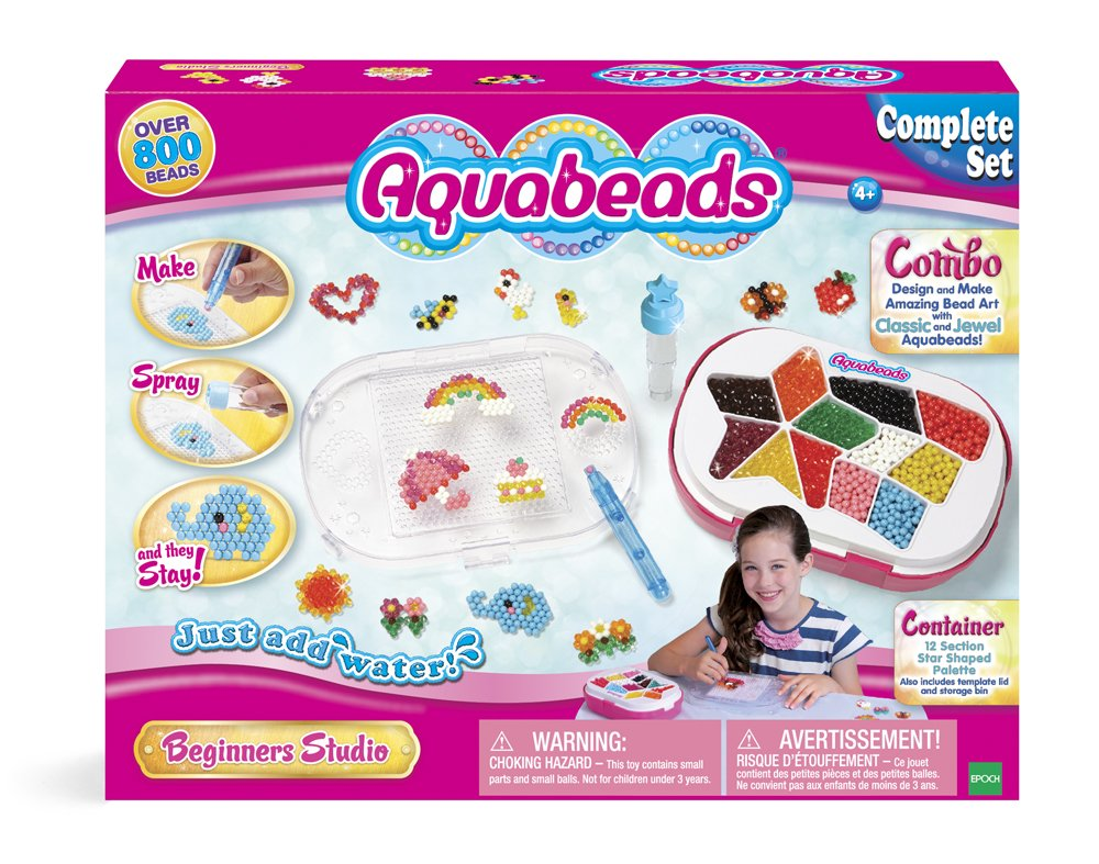 Aqua Beads Beginners Studio Playset by Aquabeads: Amazon.es: Juguetes y juegos