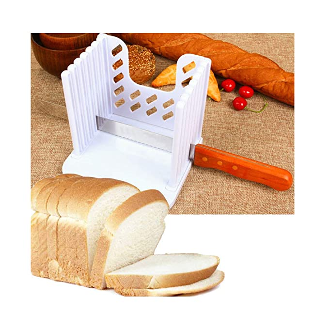 Molde cortador de pan, cortador de pan de cocina, pelador de ...