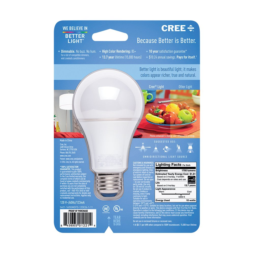 lighting of led cree bulb bulbs home light philips by lamps and comparison