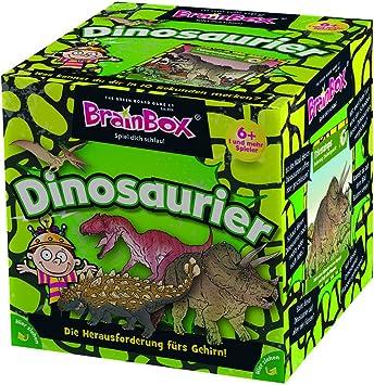 Brain Box Dinosaurs Niños Juego de Mesa de Aprendizaje - Juego de Tablero (Juego de Mesa de Aprendizaje, Niños, Niño/niña, 5 año(s)): Amazon.es: Juguetes y juegos