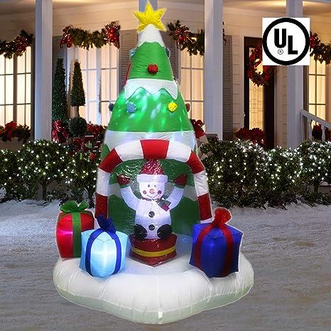 Amazon.com: ANOTHERME - 3 calabazas hinchables con luces LED ...