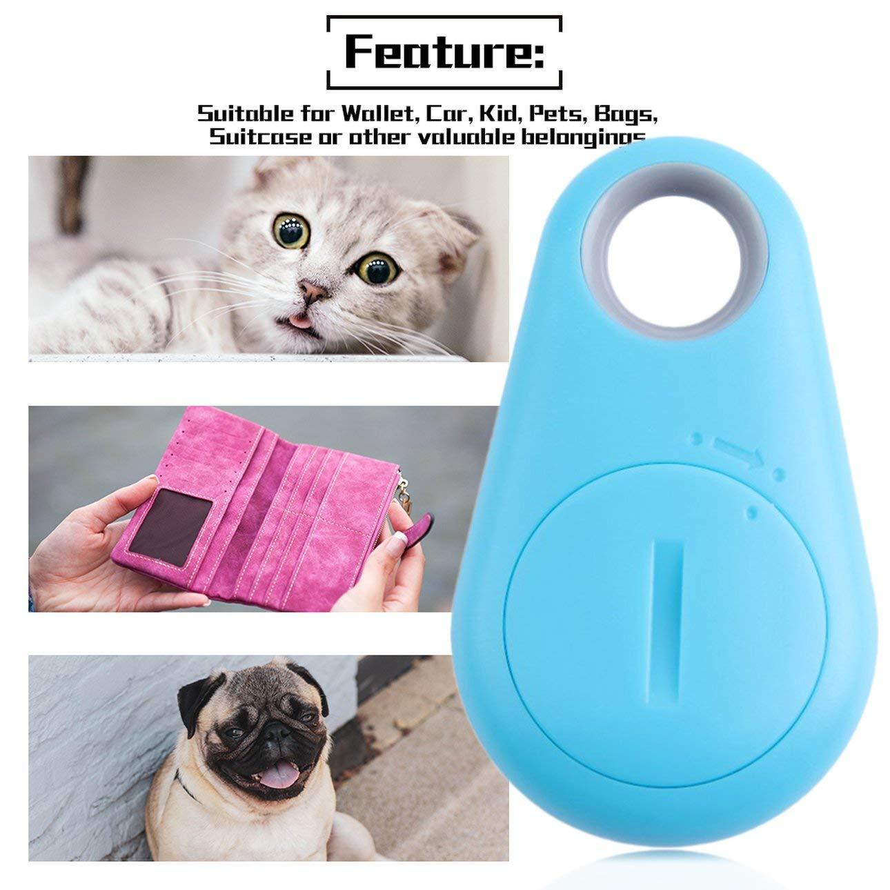 Liobaba Omnidirectional Anti-Lost Alarm Loud Beep Smart 4.0 Remote Tracer Pet Child GPS Locator Tag Alarm Key Seeker