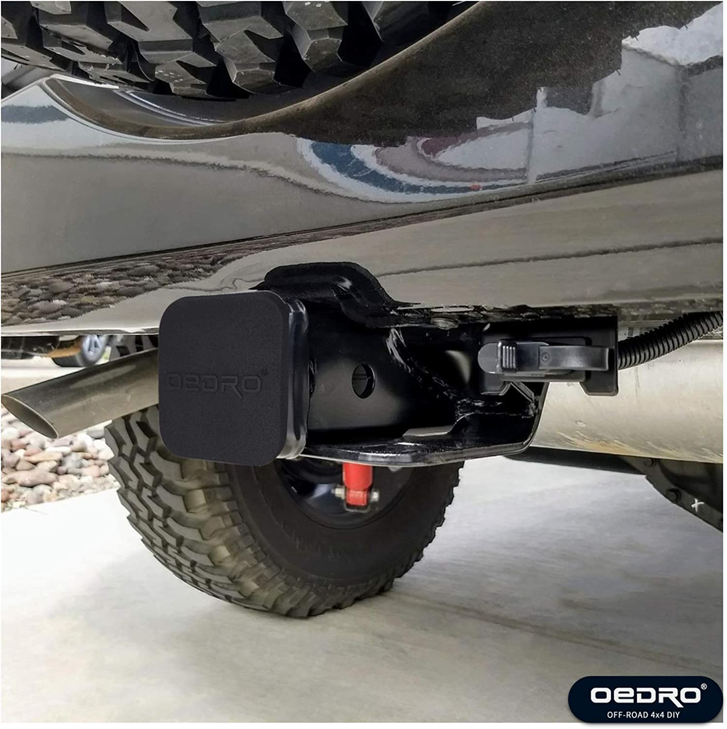 Class 3 BulbForst Jeep Trailer Hitch with 2 Receiver for Wrangler JK /& Unlimited JKU 2007-2018 Tow Accessories
