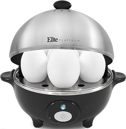 Elite Cuisine EGC 508 Egg Poacher Omelet Soft