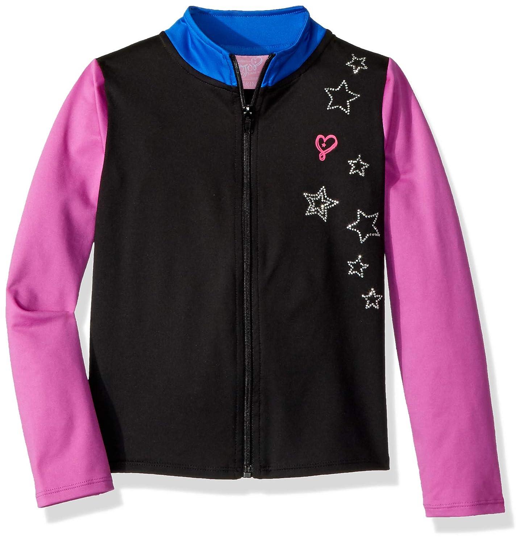 Jojo Siwa By Danskin Girls' Big Iridescent Sparkle Jacket