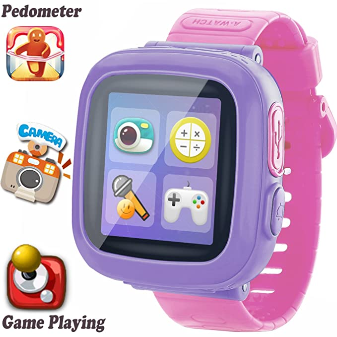 Kids Game Smart Watch [AR Pro Edition] for Ages 3-12 Girls Boys Toddlers Children Wristband with 1.5 Screen Camera Pedometer Alarm Clock Electronic ...