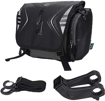 INBIKE Bicycle Handlebar Mount Storage Bag Large Capacity Backpack w// Rain Cover