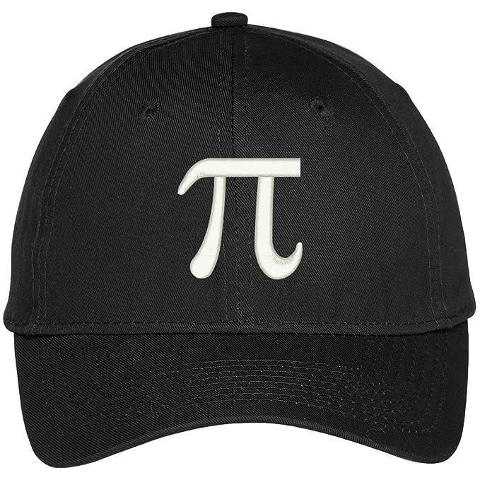 f1ec9c471a0a2 Trendy Apparel Shop Pi Day Symbol Round It Up Embroidered Baseball Cap -  Black