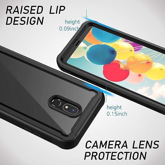 Amazon.com: Sleebas - Carcasa para LG Stylo 5 (3 capas, a ...