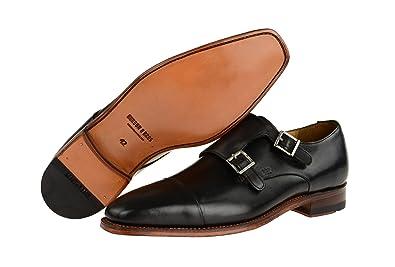 Gordon & Bros 4924-i - Chaussures À Lacets En Cuir Pour Les Hommes, Couleur Noire, Taille 45 Eu