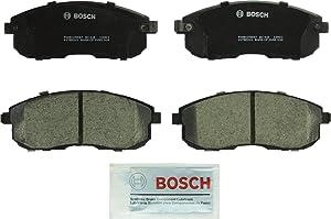 Bosch BC815 QuietCast Premium Ceramic Disc Brake Pad Set For: Infiniti G20, G35, I30; Nissan Altima, Cube, Maxima, Sentra, 350Z, Front