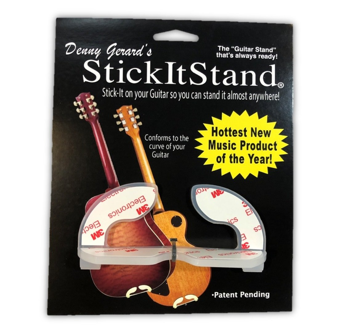 StickItStand Guitar Stand That Sticks to Your Guitar by Denny Gerard (three)