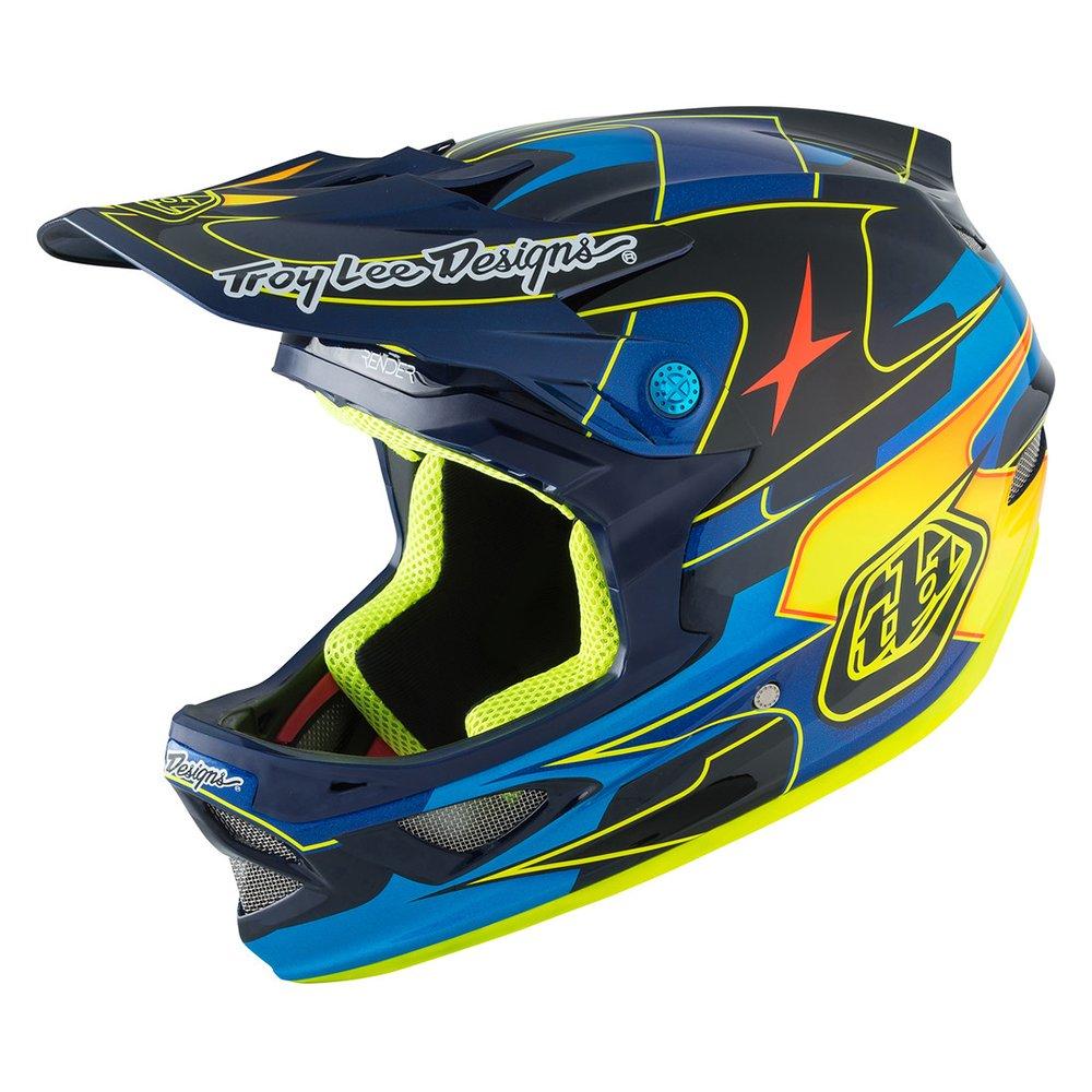 Amazon.com: Troy Lee Designs D3 Carbon MIPS Helmet Render Navy, M: Sports & Outdoors