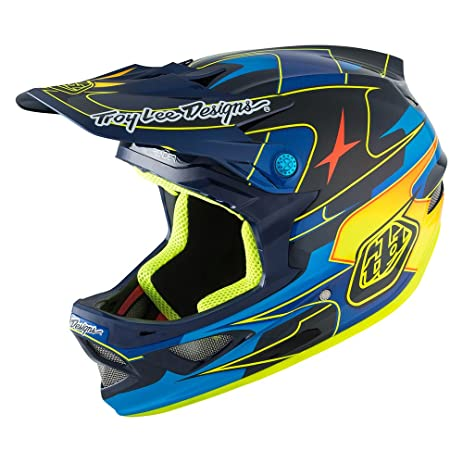 Troy Lee Designs D3 Carbon MIPS Helmet Render Navy, M