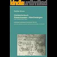 Ortschronik Abschwangen / Almenhausen mit Ortsfamilienbuch
