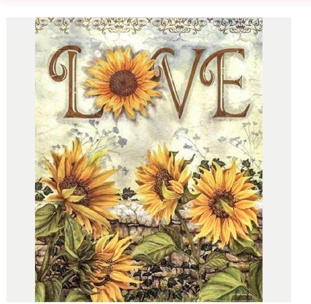 300 Pcs Kid Adult Puzzle Sunflowers Classic Painting Jigsaw Educational Toy Gift