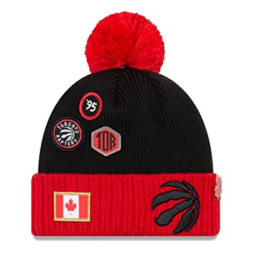 the latest 2fc5e 6578a New Era NBA DRAFT 2018 Bobble Beanie - Toronto Raptors  Amazon.co.uk  Sports    Outdoors