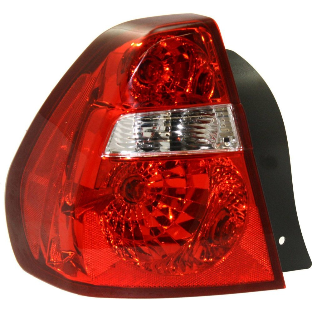 Evan-Fischer EVA15672021252 Tail Light for Chevrolet Malibu 04-08 Assembly Fwd Left Side 4333004372