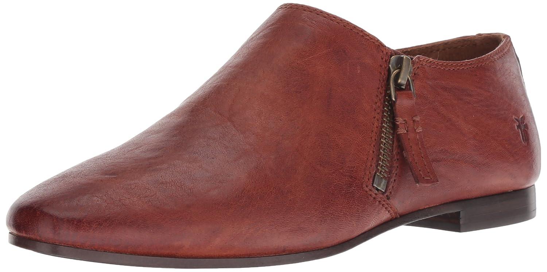 FRYE Women's Terri Zip Bootie Ankle Boot B077XQW229 6.5 M US|Cognac