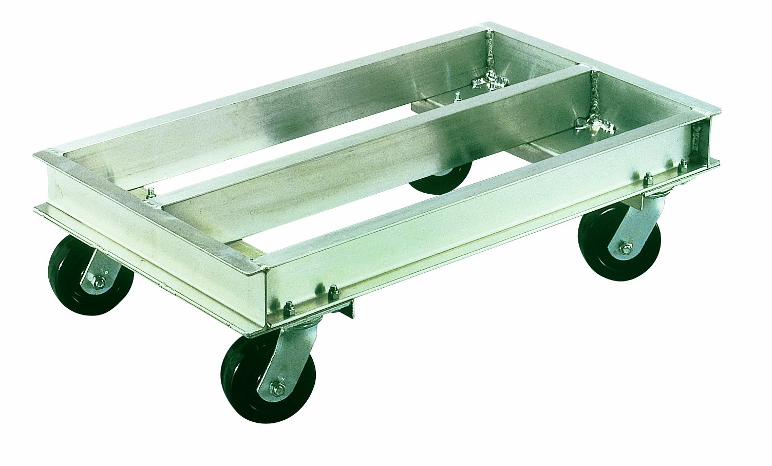 Magliner CDC2136 Aluminum Caster Dolly, High Strength, 2000 lb Capacity, 36'' Length x 21'' Width x 10'' Height