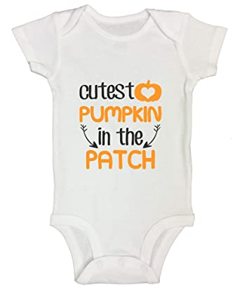 amazoncom christmas onesies cutest pumpkin in the patch funny kids onesie clothing